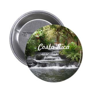 Costa Rica Pin Redondo De 2 Pulgadas