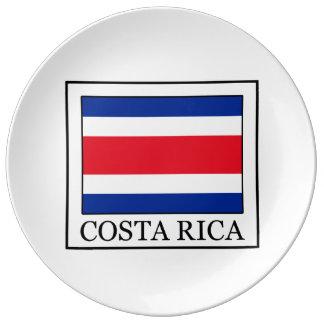 Costa Rica Plato De Cerámica