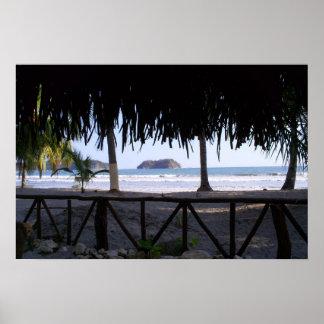 Costa Rica Playa Samara Poster