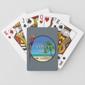 Costa Rica - Playing Cards, Standard Index faces Poker Cards