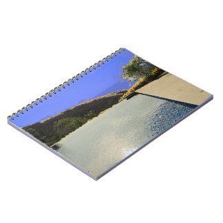 Costa Rica pool Spiral Notebooks