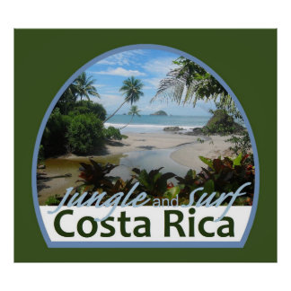 Costa Rica POSTER Print