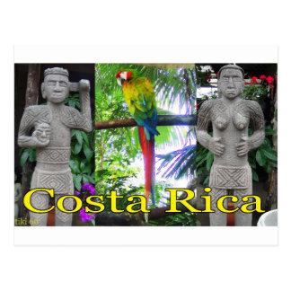 Costa Rica Pre-Columbian Parrot Postcard