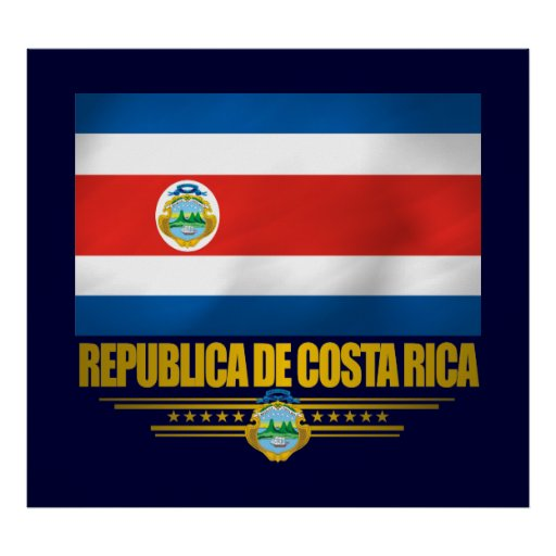 """Costa Rica Pride"" Posters & Prints"
