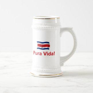 Costa Rica Pura Vida! Beer Stein