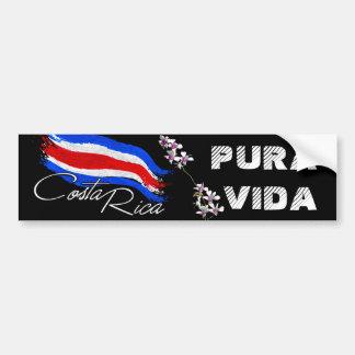 ¡Costa Rica Pura Vida! Pegatina Para Auto