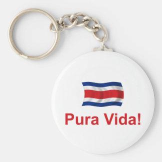 ¡Costa Rica Pura Vida! Llaveros Personalizados