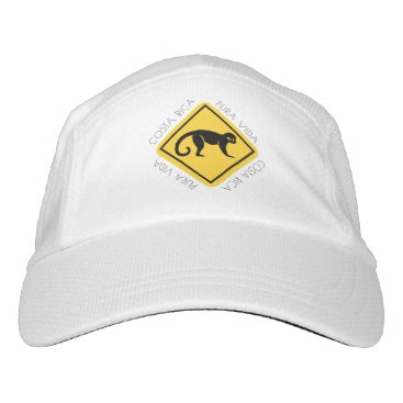Costa Rica Pura Vida Monkey Crossing Hat