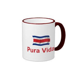 Costa Rica Pura Vida! Ringer Mug