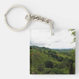 Costa Rica Rain Forest Acrylic Key Chain