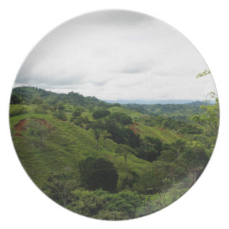 Costa Rica Rain Forest Dinner Plates