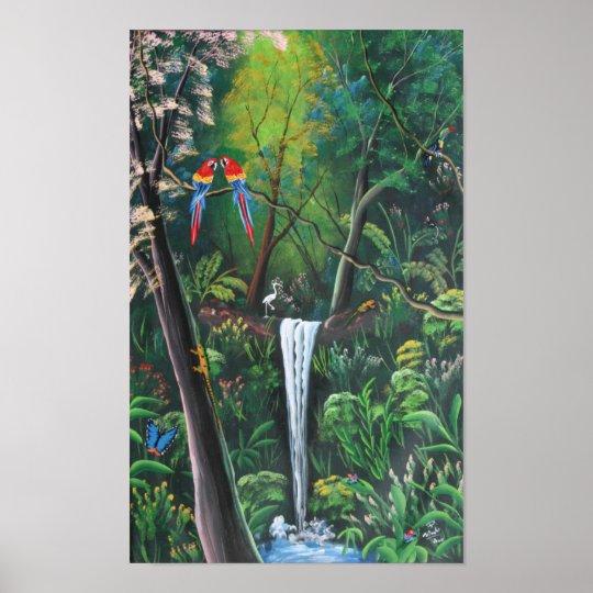 Costa Rica Rainforest Print