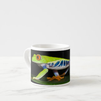 Costa Rica, Red-eyed Tree Frog (Agalychnis Espresso Cup