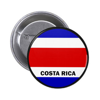 Costa Rica Roundel quality Flag Buttons