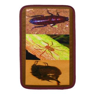 Costa Rica salvaje - arañas cucarachas e insectos Fundas MacBook