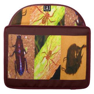 Costa Rica salvaje - arañas cucarachas e insectos Funda Para Macbooks