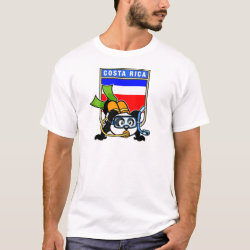 Costa Rica Scuba Diving Panda Men's Basic T-Shirt