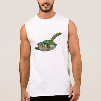 Costa Rica Sea Turtle Sleeveless Tee