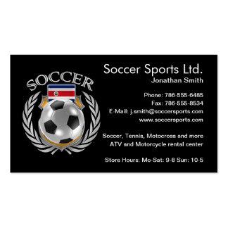 Costa Rica Soccer 2016 Fan Gear Business Card