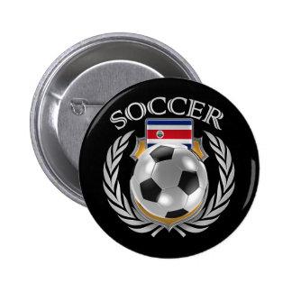 Costa Rica Soccer 2016 Fan Gear Button