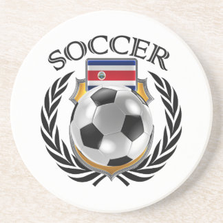 Costa Rica Soccer 2016 Fan Gear Drink Coaster