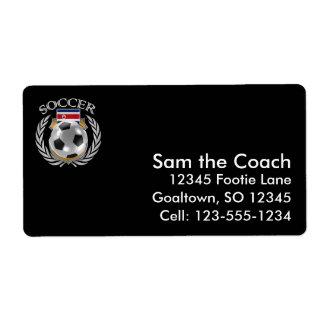 Costa Rica Soccer 2016 Fan Gear Label