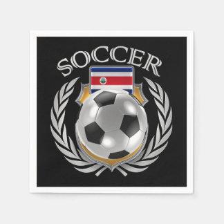 Costa Rica Soccer 2016 Fan Gear Napkin