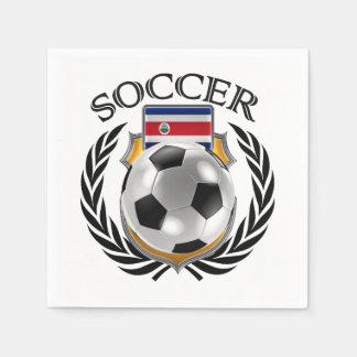 Costa Rica Soccer 2016 Fan Gear Paper Napkin