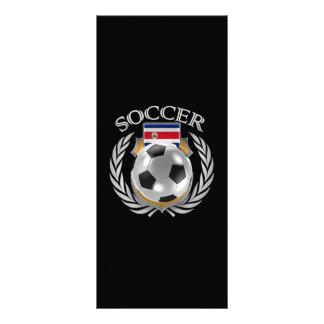 Costa Rica Soccer 2016 Fan Gear Rack Card
