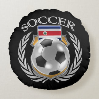 Costa Rica Soccer 2016 Fan Gear Round Pillow