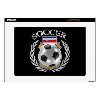 """Costa Rica Soccer 2016 Fan Gear Skins For 15"""" Laptops"""