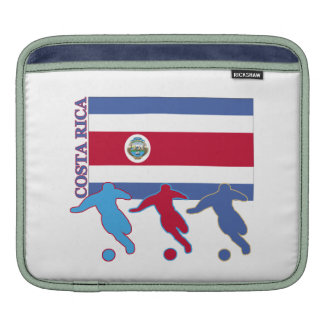 Costa Rica Soccer Players Sleeves For iPads