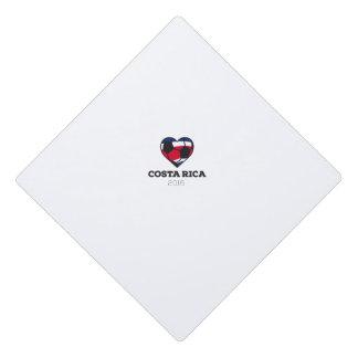 Costa Rica Soccer Shirt 2016 Graduation Cap Topper