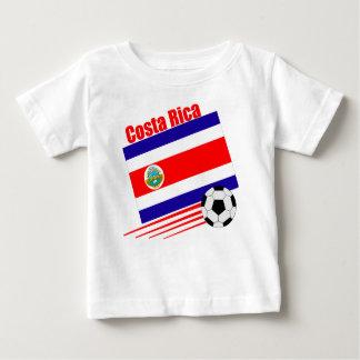 Costa Rica Soccer Team Baby T-Shirt