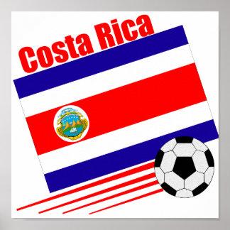 Costa Rica Soccer Team Poster