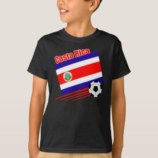 Costa Rica Soccer Team T-Shirt