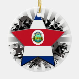 Costa Rica Star Ornament