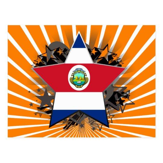Costa Rica Star Postcard