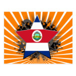 Costa Rica Star Postcards