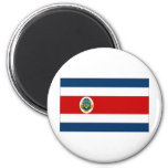 Costa Rica State Flag 2 Inch Round Magnet