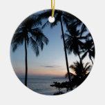 Costa Rica Sunrise Christmas Ornaments