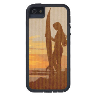 Costa Rica Surfer Girl Case For iPhone SE/5/5s