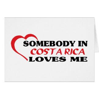 COSTA RICA TARJETON