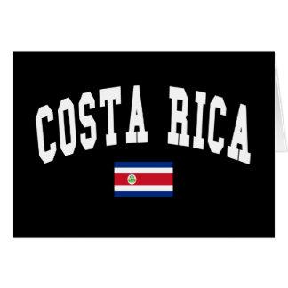 COSTA RICA TARJETA