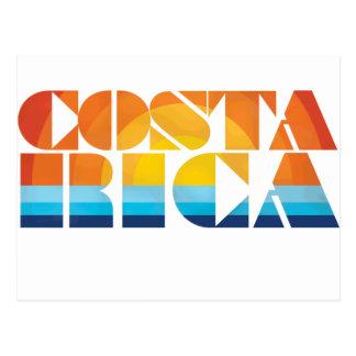 Costa Rica Tarjeta Postal