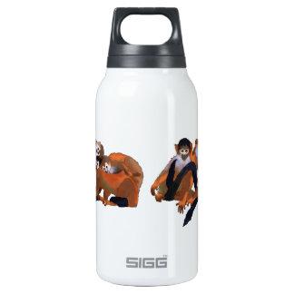 Costa Rica Titi Monkey Insulated Water Bottle