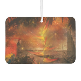 Costa Rica - Travel and Holiday Destination Air Freshener