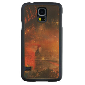 Costa Rica - Travel and Holiday Destination Carved® Maple Galaxy S5 Slim Case