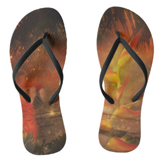 Costa Rica - Travel and Holiday Destination Flip Flops