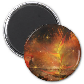 Costa Rica - Travel and Holiday Destination 2 Inch Round Magnet
